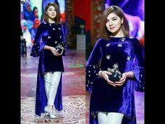 Pakistani Fashion Casual, Pakistani Dresses Casual, Indian Dresses, Indian Outfits, Velvet Pakistani Dress, Pakistani Dress Design, Simple Dresses, Casual Dresses, Velvet Dress Designs