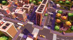 3D model: Urban Neighbourhood Scene by umer.memon