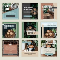 Cookbook Design, Menu Design, Ad Design, Design Ideas, Instagram Design, Instagram Feed, Banner Design Inspiration, Instagram Banner, Powerpoint Design Templates