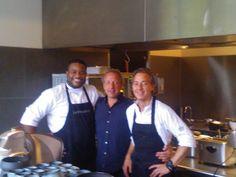 Met Heinrich en Menno bij La Provence