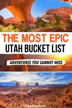 Discover the best outdoor things to do in Utah! Plan a Utah vacation you won't forget with these best places to visit in Utah | best places to go in Utah | where to go in Utah | Utah road trip ideas | best travel destinations in Utah | Utah travel destinations | prettiest places in Utah | best things to do in Utah | Utah travel guide | Utah vacation destinations | Utah vacation ideas | best places to visit in USA | southwest travel destinations | southwest vacation ideas | Utah bucket list Usa Travel Guide, Travel Usa, Travel Guides, Travel Info, Canada Travel, Travel Tips, Utah Vacation, Vacation Destinations, Vacation Ideas