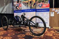 IB13: Keeping a Triple Amputee Riding – Ride 2 Recovery's Amazing Full Suspension Mountain Hand Cycle... at Interbike Vegas