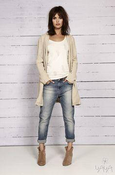 Like boyfriend jeans, slightly distressed, hate lots of holes.