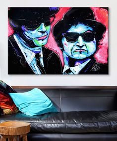 Love this Blues Bros Gallery-Wrapped Canvas on #zulily! #zulilyfinds