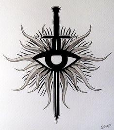 Resultado de imagem para dragon age tattoo