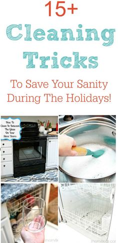 15 Cleaning Tricks To Save Your Sanity
