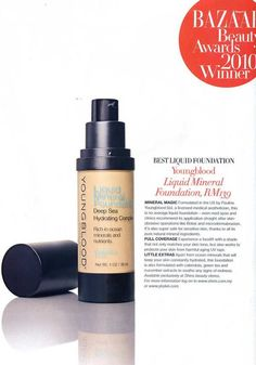 Product of the month!!!! say goodbye to dry!  It has a Deep Sea Hydrating Complex that quenches parched skin for a healthy radiance. A special blend of rare Reduced Salt Deep Sea Water, botanicals and more than 20 ocean minerals soothes and revitalizes skin. The pore-free finish wears for hours. It has a satin finish and a sheer to medium coverage, to give skin an even appearance without the look of makeup.  Even better, it is vegan, gluten free, and cruelty-free! (919)213-1772