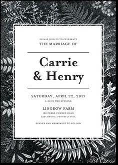wedding paper divas forest vignette