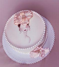 -chic and stylish cake