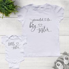 Inktastic Big Sister To A Little Mr White Infant Dress Siblings Sis Girl Brother
