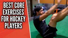 3 Best Core Exercises For Hockey Players Hockey Workouts, Hockey Drills, Hockey Goalie, Hockey Players, Agility Workouts, Youth Hockey, Hockey Mom, Field Hockey, Hockey Stuff