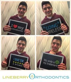 Nice Job Jesus!  - You've been a fabulous patient! We love your new #LineberryOrtho smile!