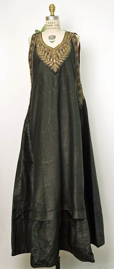Dress Date: 19th century Culture: Algerian Medium: silk, cotton, metal thread