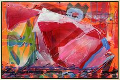 Camille Patha, The Juicier the Berry, 2011 Oil on panels (diptych). 24 x 36 inches. $3500