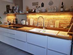 Ikea Metod Kitchen, Kitchen Dining, Kitchen Cabinets, Küchen Design, House Design, Small Kitchen Layouts, Luxury Kitchen Design, Dream Rooms, Kitchen Interior