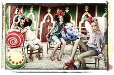 FLAMENCO SPRING/SUMMER 2011 CIRCUS by Ali Larrey, via Behance