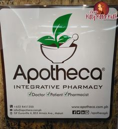 Apotheca Integrative Pharmacy's Health and Wellness Space Launch   Dear Kitty Kittie Kath- Beauty, Fashion, Lifestyle, and Mommy Blog