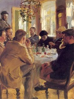 Painters I should Have Known About (004) Peter Krøyer | Articles & Texticles
