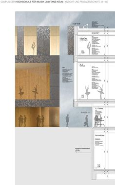 HPP Selected to Redesign Cologne's University of Music and Dance,Facade Detail. Image © HPP Architects