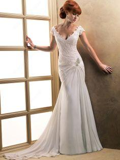 mermaid wedding dress for a church wedding