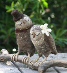 delicadeza mr and mrs owl,bird loving couples perfect wedding present,the twitchers will be flooding in