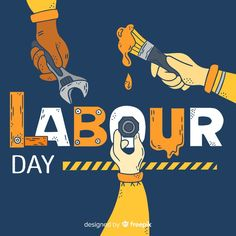 Exploitation of labour Mumbai, Labour Day Wishes, India Poster, Simple Canvas Paintings, Poster Background Design, Ads Creative, Happy Labor Day, Islamic Art Calligraphy, Couple Cartoon
