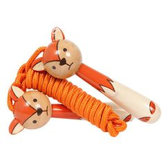 Hop, skip and jump! We just love this cute vintage style fox skipping rope from Seedling! Revive old childhood favourite skipping games such as skip-hop's copy the fox and chase the fox. Kids Gifts, Baby Gifts, Kids Presents, Skipping Rope, Craft Activities For Kids, Imaginative Play, Classic Toys, Tigger, Stocking Stuffers