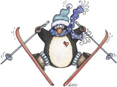 penguins pasttime by Laurie furnell - carmen freer - Picasa Web Albums Christmas Bird, Christmas Drawing, Christmas Clipart, Christmas Animals, Christmas Pictures, Snowman Clipart, Penguin Pictures, Winter Clipart, Simple Artwork