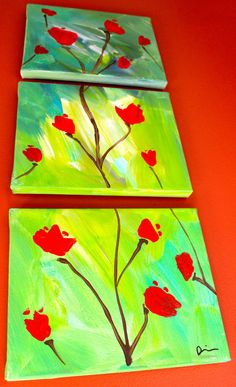 Items similar to Original Creative Acrylic on canvas. Perfect wall decor for any home or office - Tenderness Across - Floral Painting on Etsy Wall Decor, Paintings, The Originals, Canvas, Awesome, Floral, Creative, Etsy, Wall Hanging Decor