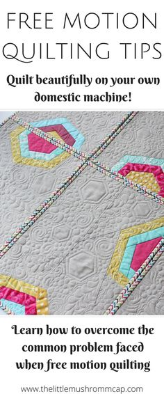 Free motion quilting for beginners