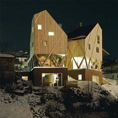 modus architects artists residence atelier castelrotto designboom