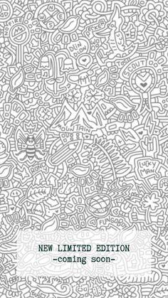 #doodle #lemiel #zeichnung #lemiel #natur Italian Artist, Doodles, Bee Art, Tapestry, Songs, Nature, Fashion, Portion Plate, Art