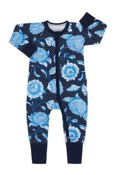 Bonds Baby Zip WONDERSUIT Picnic Posy Unisex