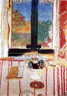 Pierre Bonnard - 1934 Fenêtre sur le Jardin