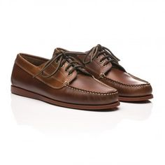 Camp Moc Jackman Pull Up Leather Mid Brown