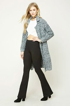 Flared Knit Pants