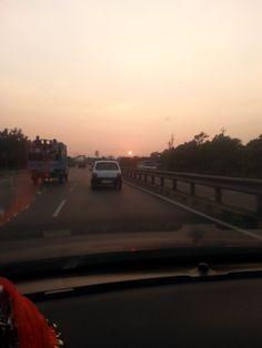 On Gujarat  - Mumbai Highway