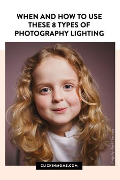 There are several types of lighting, each resulting in a different effect in your photos. We're walking you through eight commonly referenced types of lighting, all of which can be achieved with natural light or flash photography. #photography #lighting Types Of Photography, Flash Photography, Photography Lighting, Photography Tutorials, Portrait Photography, Split Lighting, Loop Lighting, Types Of Lighting, Butterfly Lighting