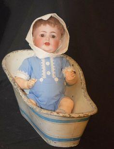 Antique Doll Bisque Kammer Reinhardt Simon & Halbig 126 Wobbly Tongue