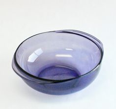 Vintage Amethyst Pyrex 2 Qt. Casserole Dish Rare Color by OllyOxes...Blue, awww