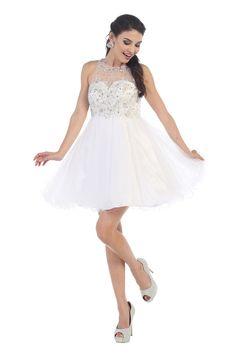 Dama Dress  MQ1220. Dama DressesShort DressesFormal ... 5e089e50b