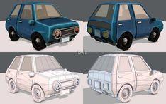 Cartoon Car 01 | 3D model 3d Assets, 3d Projects, 3d Animation, Cartoon, Game, Model, Engineer Cartoon, Mathematical Model