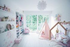 girl bedroom teepee house bed