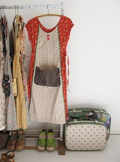 dottie angel: calico house frocks and such like… inspiration.