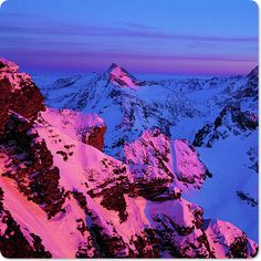 Swiss Alps sunset......