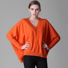 2016 womens winter Cashmere sweaters and auntmun women knitted Cardigans High Quality Female thickening Batwing Sleeve
