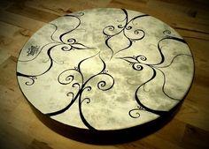 "16"" frame drum by Henna Lotus (Jaki)"