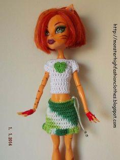 If you like this model, don't doubt, visit my shop: http://mymonsterhighboutique.dawanda.com  Ropa de Monster High s201 von My Monster High boutique auf DaWanda.com