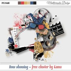 Mediterranka design: NOW SHOWING + CHANCE TO WIN + FREE CLUSTER BY KAMA