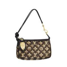 8ed3c1b4fc15 Discount on Louis Vuitton Monogram Eclipse Pochette Accessoires M40248  Outlet. Save up to 73%